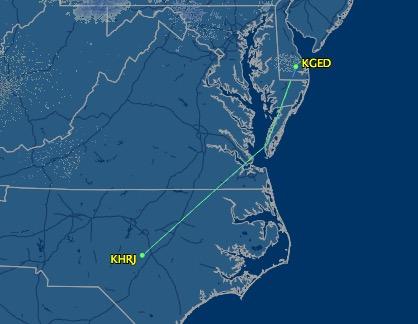 Leg 2 - Erwin, NC to Georgetown, DE