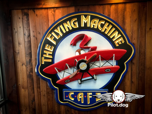 The Flying Machine Cafe at KMQS