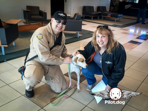 Steve - Pilot & Pam - Dog Flight Caregiver