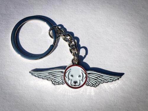 Pilot.dog_Keychain